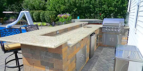 Nassau County Outdoor Kitchen Design