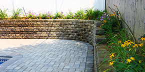 Nassau County Retaining Wall Construction